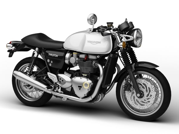 3d model triumph thruxton 2016