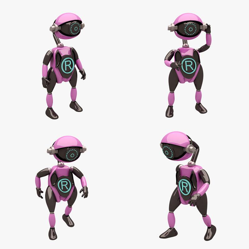 robot 3 pose max