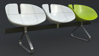 Fjord Bench Sistema Iray + 3ds max