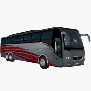 9700 bus tour 3d 3ds