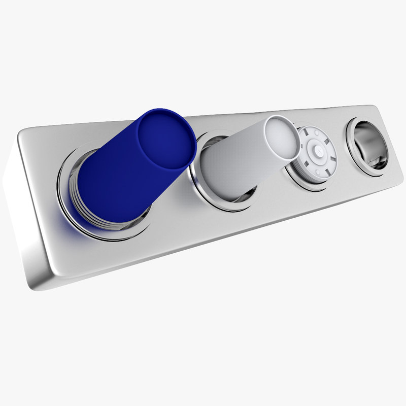 distributor cups 3d model