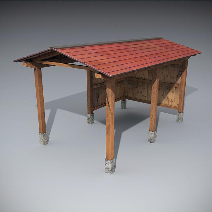 3d wooden structures