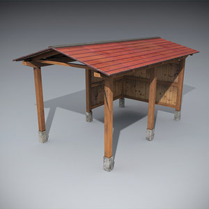 3d wooden structures