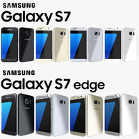 3d model of samsung galaxy s7 edge