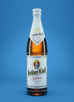 berliner kindl beer bottle 3d model