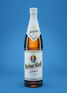 berliner kindl beer bottle 3d model