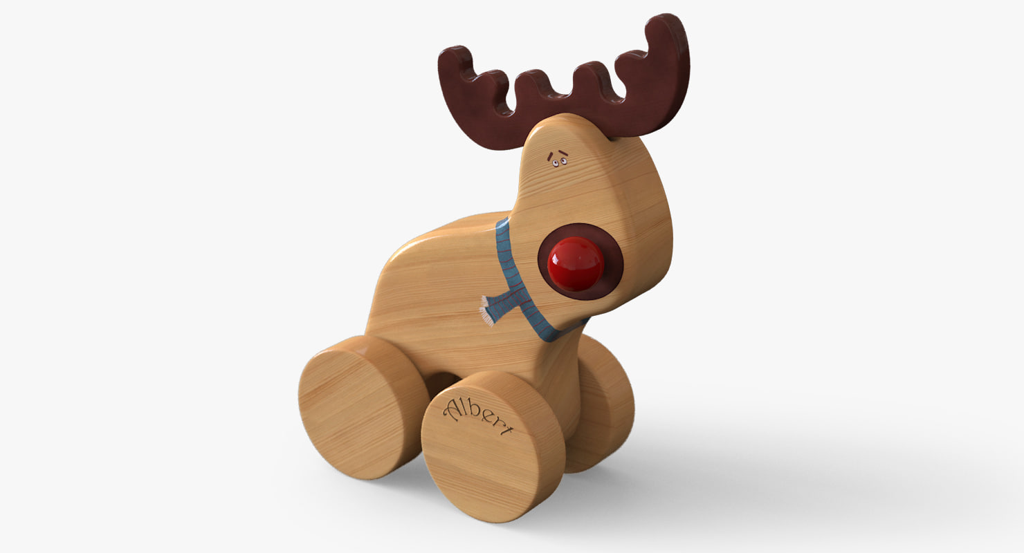 toy moose 3d max