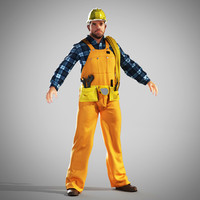 worker builder 3d 3ds