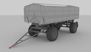 tatra bbs trailer 3d model