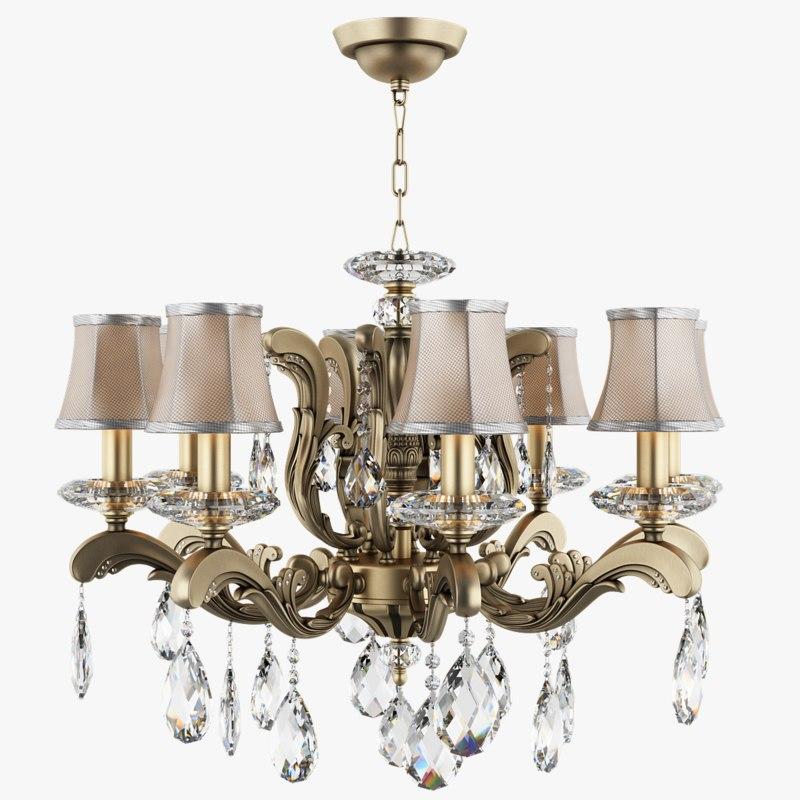 3d chandelier 699088 md89205 8 model