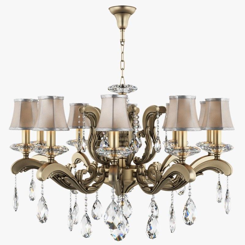 3d chandelier 699108 md89205 10