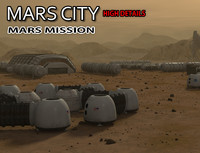 Mars City Colony