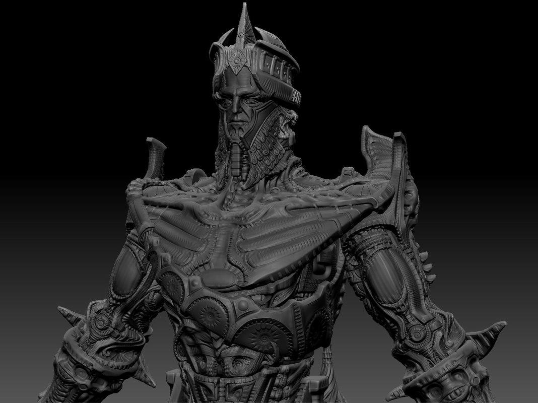 free characters gods 3d model