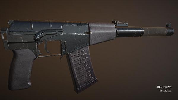 3d model speccial forces assault