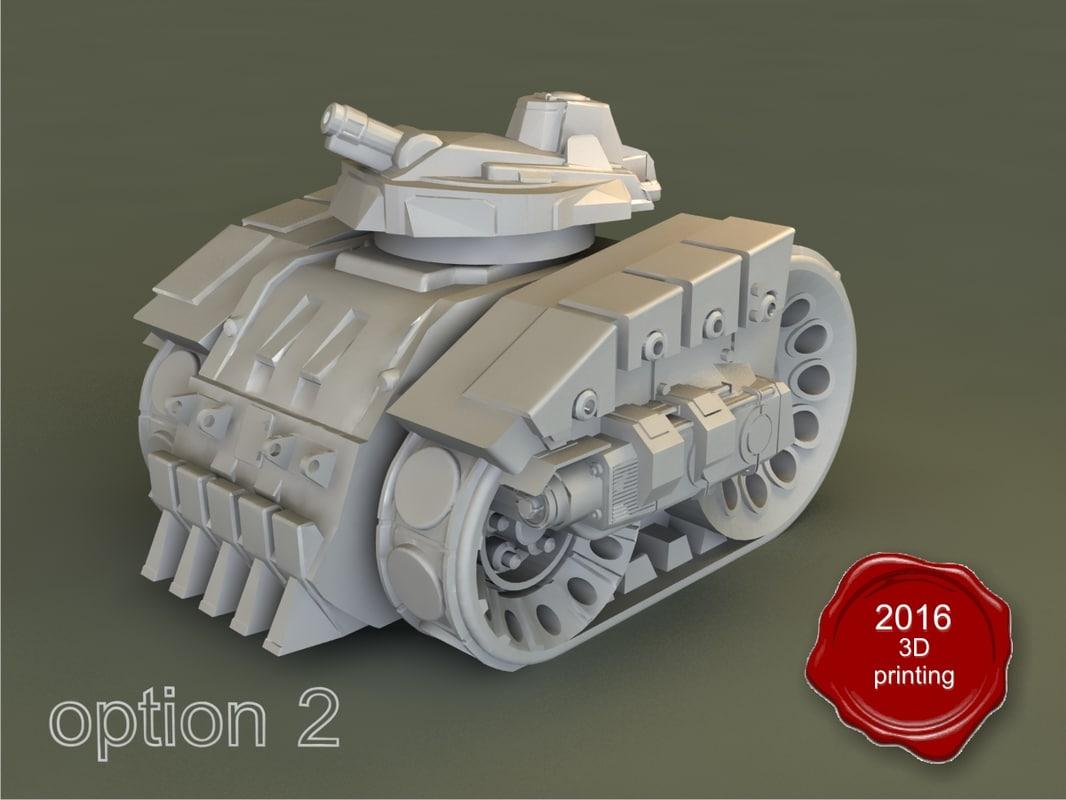 tank kronprinz 3d max