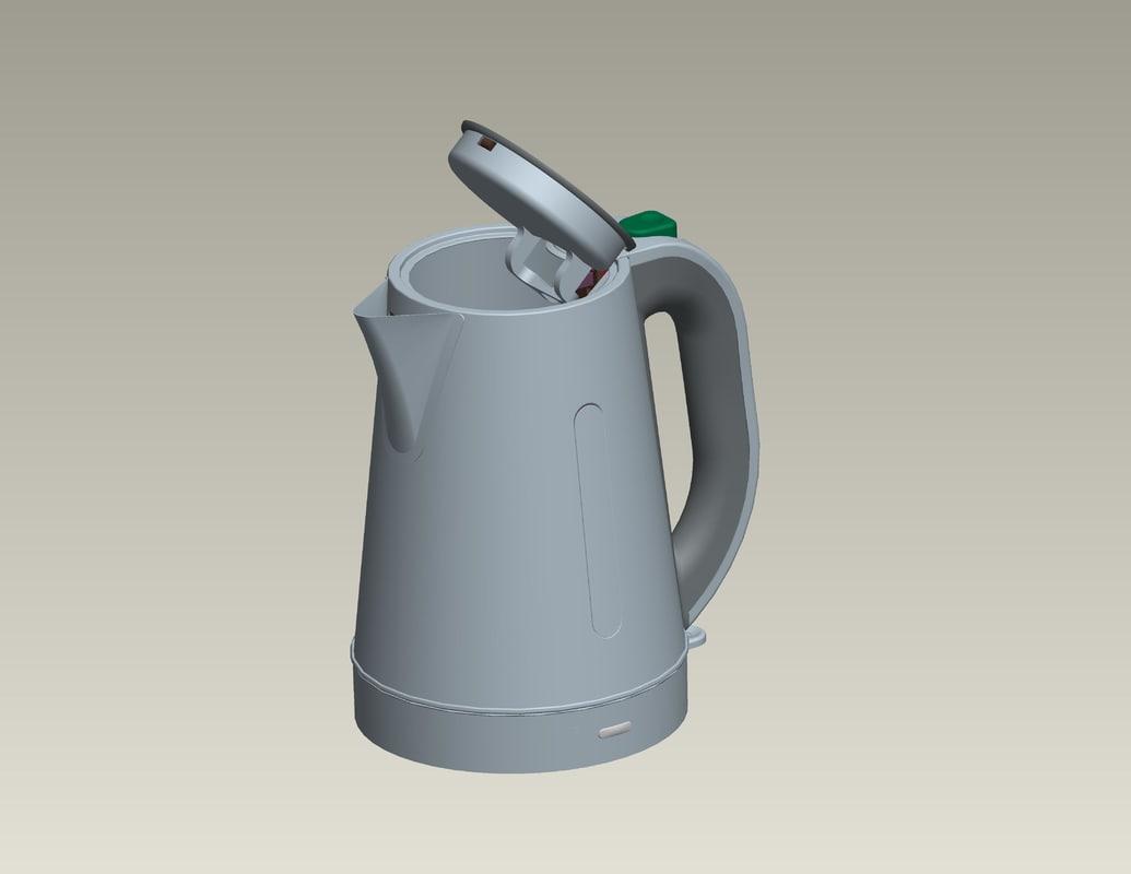 3d electric kettle