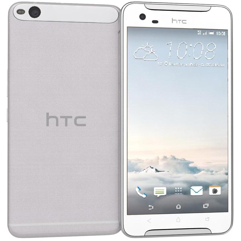 htc x9 white 3d max