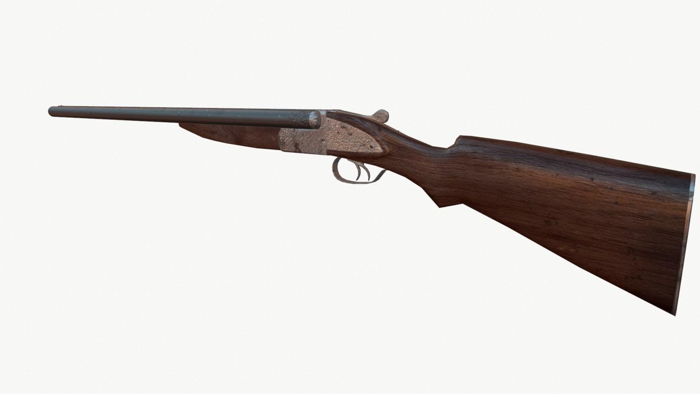 gun iz 3d x