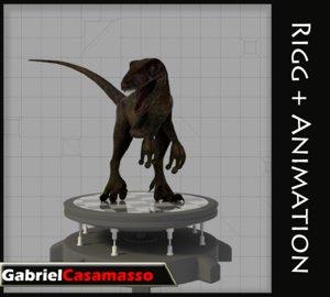 x velociraptor raptor