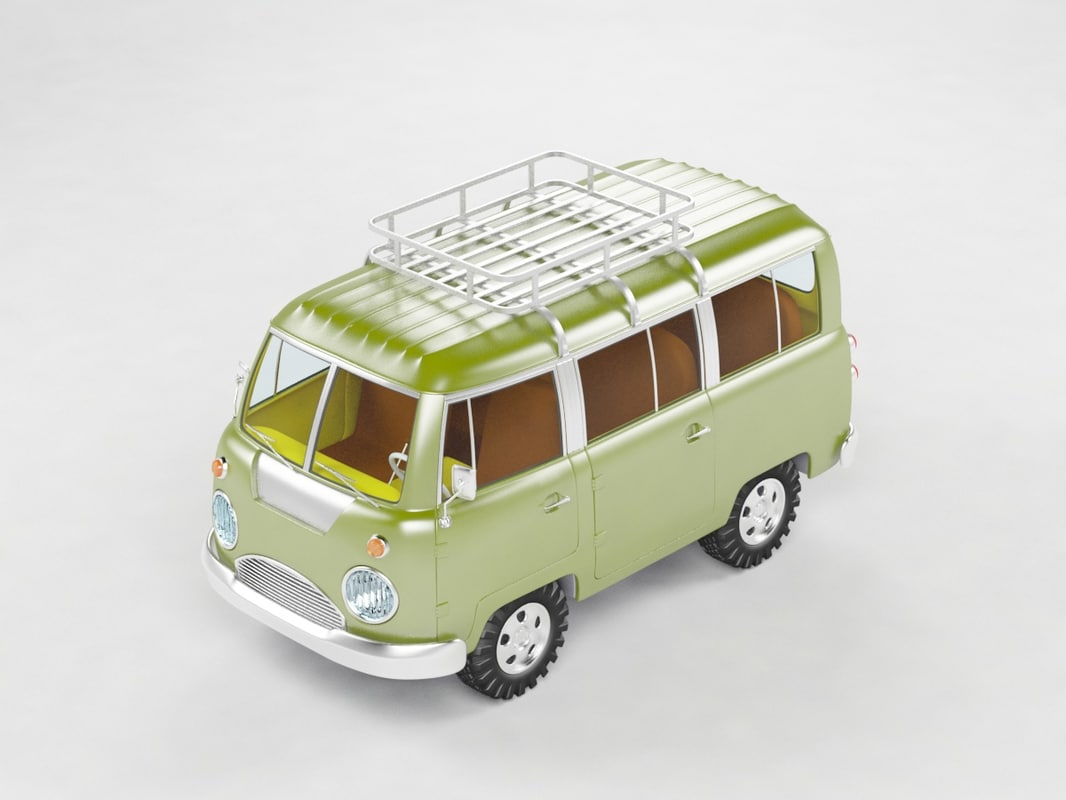3d van safari model