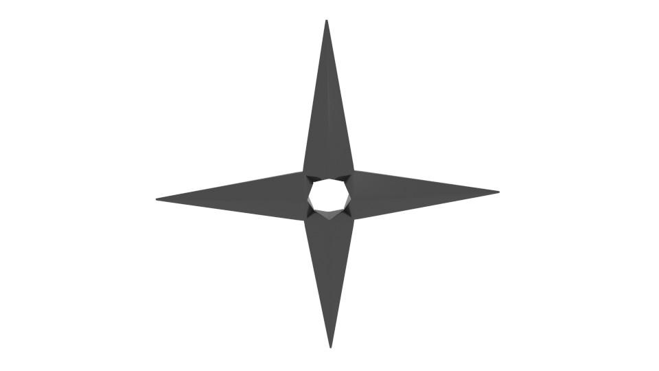 free shuriken 3d model