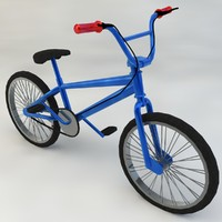 Kid's Bike Low-Poly