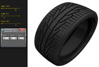 3d scripted tire sizes