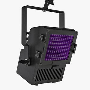 altman blacklight floodlight uv 3d model