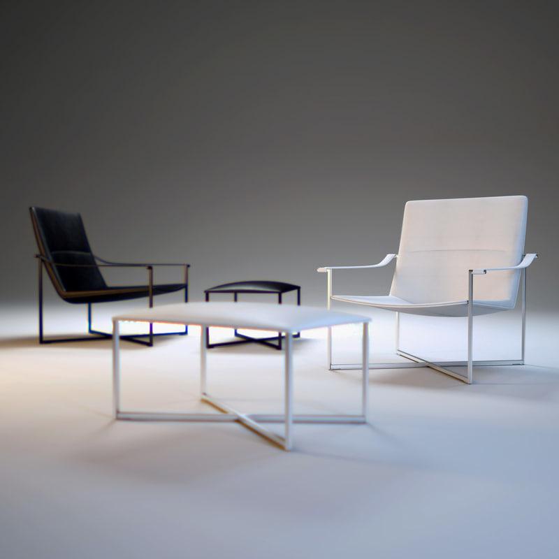geo-armchair 3d model