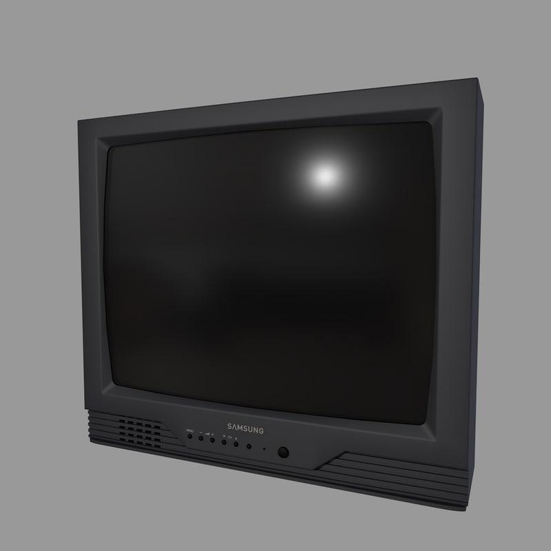 old tv samsung c4d