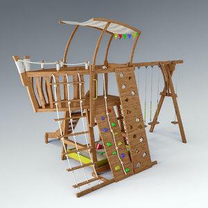 ship playground 3d max