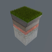 3d soil sections