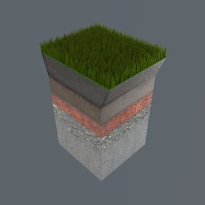 3d soil sections