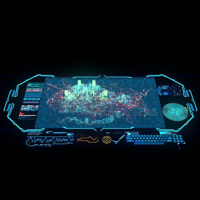 hologram city max