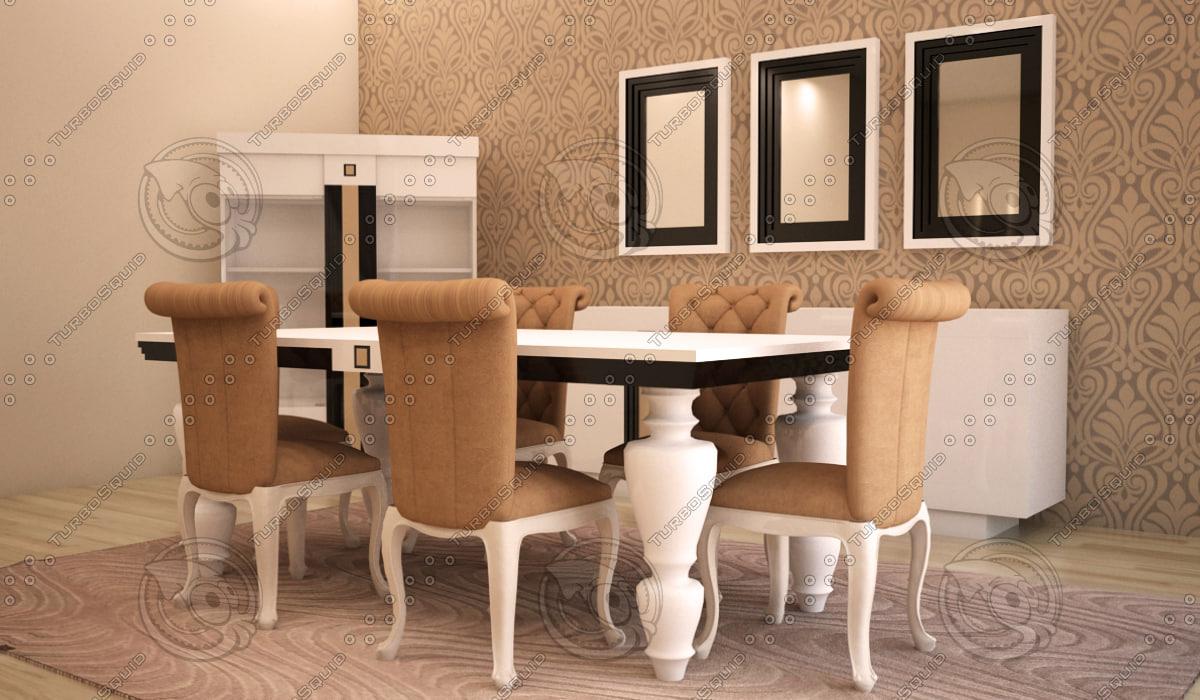 furniture avantgarde chair 3d model