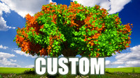 Tree Custom and Plants