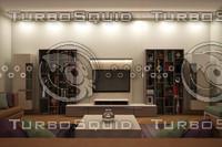 3d modern design set