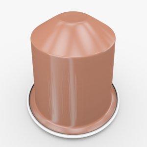 3d nespresso capsule bukeela