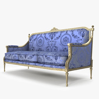 3d model angelo cappellini sofa