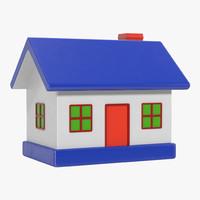 toy house 2 3d c4d