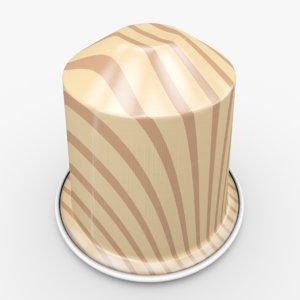 nespresso capsule caramelito obj