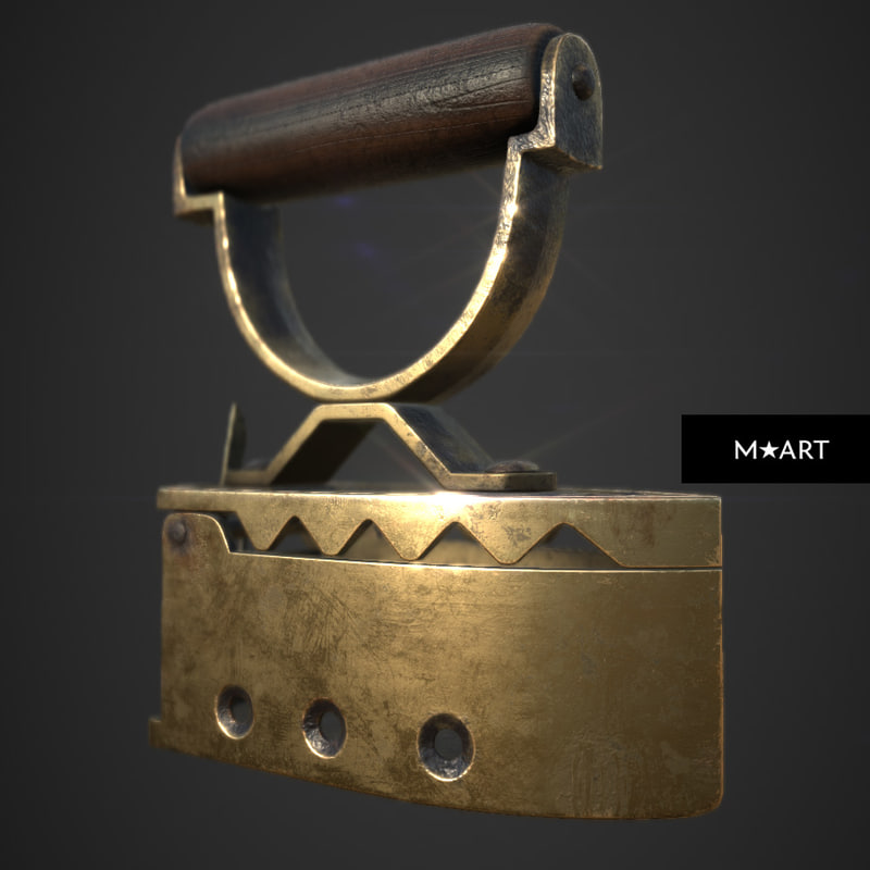 3d ancient coal iron