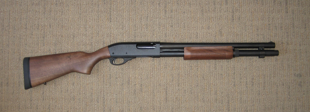 3d model 870 shotgun