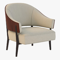 3d kyoto lounge chair