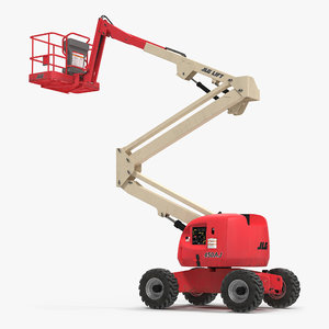 telescopic boom lift jlg 3d 3ds