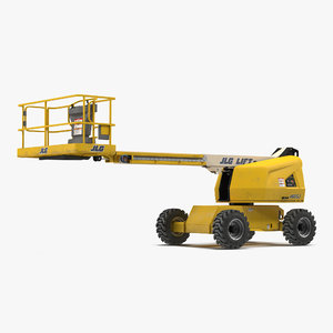 3d model telescopic boom lift jlg