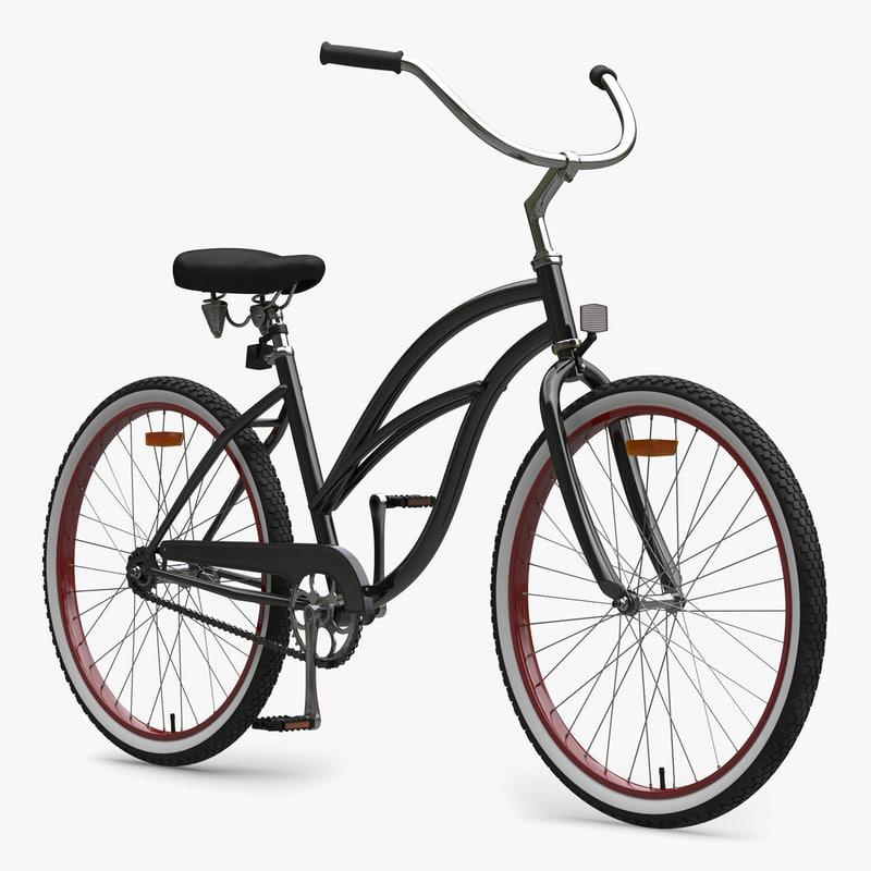 3d beach bike generic