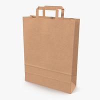 paper bag 3 3d 3ds