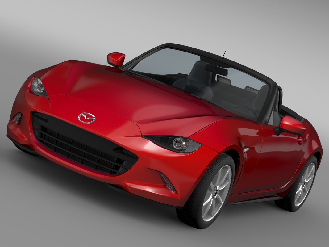3d 3ds mazda mx 5 nd
