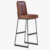 3d 3ds elysian barstool bar
